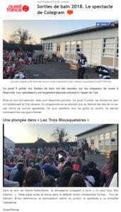 Ouest France - Sorties de Bain - 06-07-2018