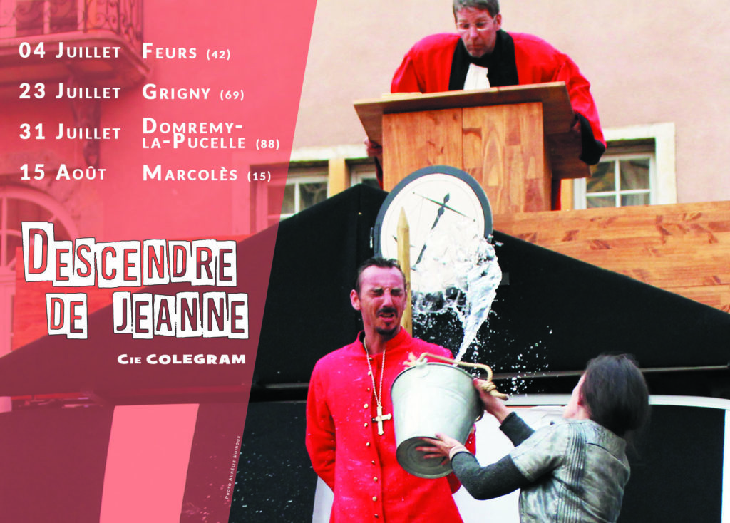 Tournée 2021 - Descendre de Jeanne - Cie Colegram